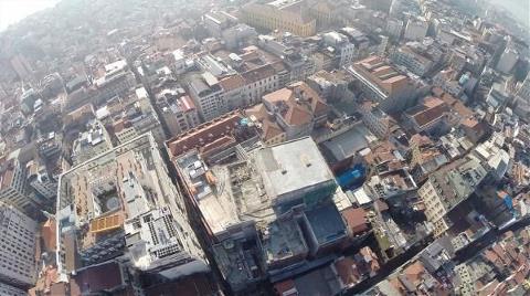 İşte Emek'in Yerinde Yükselen İnşaatın Havadan Görüntüsü