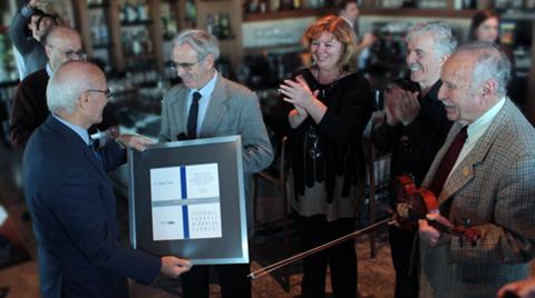 Doğan Hasol'a İSMD Mimarlığa Katkı Ödülü