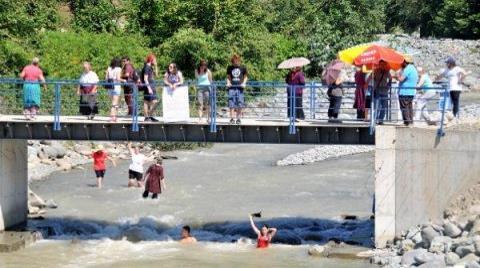 Kaçak HES Köprüsü Yıkıldı, Proje İptal, Köylülere Dava