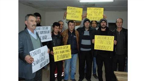 Sabuncubeli Tüneli İşçileri İsyanı Ankara'ya Taşıyor
