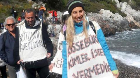 Çevrecilerden Defileli Protesto