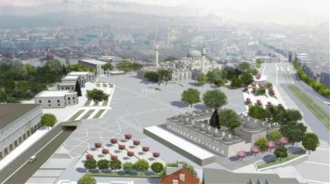 Beyazıt Meydanı İşte Böyle Olacak!