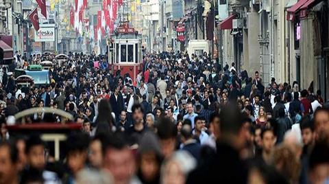 Türkiye'nin 2014 Yılındaki Nüfusu Belli Oldu
