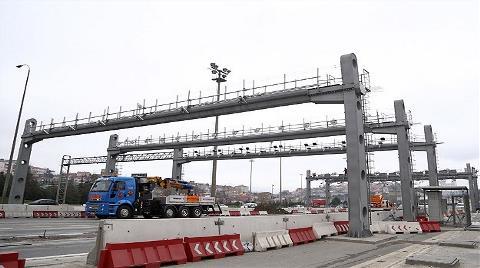 FSM Köprüsü'nde Çalışmalar Tamamlandı