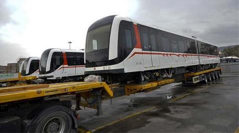 İzmir'in Yeni Vagonları Geldi
