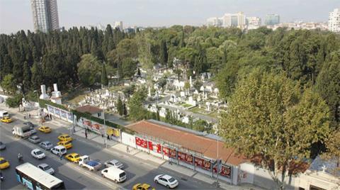 Ermeni Mezarlığı'nın Tapusu Kiliseye Verildi