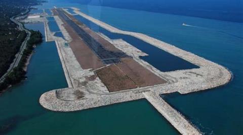 İkinci Denize Dolgu Havalimanı Rize'de İnşa Edilecek