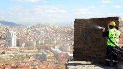 Ankara Kalesi'nde Basınçlı Temizlik