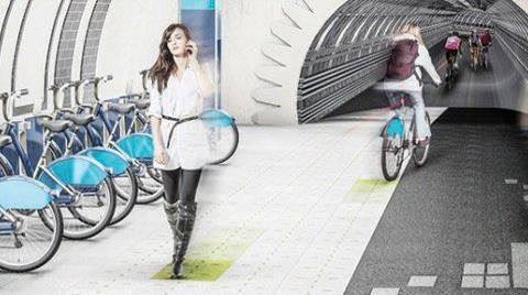 Dünyanın İlk Yeraltı Bisiklet Ağı Londra'da