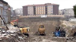 Küçükköy Kazısında Çökme: Stat Mühürlendi