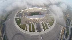 İşte Çok Tartışılan Stadın Havadan Görüntüleri