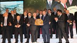 Dünya İkincisi Müteahhitler Ankara'da Ödüllendirildi