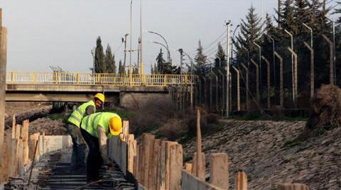 Habur'da 3'üncü Köprü Çalışmaları Başladı