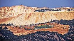 Mermere Kurban Dağı Yeşile Boyadılar