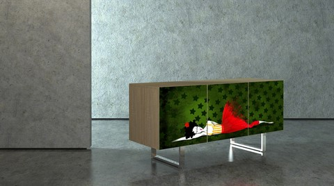 Modern Sanat ve Mobilya Üniteleri Artonthebox'ta Buluştu