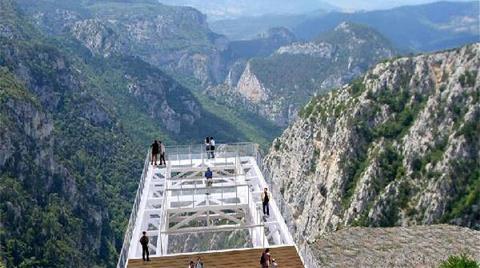 Çatak Kanyonu'na Cam Teras için Ödenek Bekleniyor