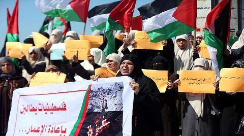 Filistinli Kadınlardan İmar Eylemi