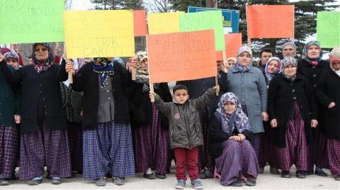 'Kömüre Köyümüzü Feda Etmeyeceğiz'