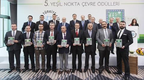 Yeşil Nokta Çevre Ödülleri'nin 5.'si Sahiplerini Buldu