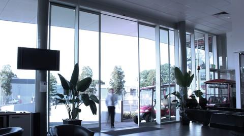 DORMA 01 Serisi Otomatik Kayar Kapılar