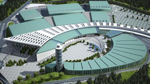 İzmir'in 1 Milyar Liralık Fuar Alanı Hazır