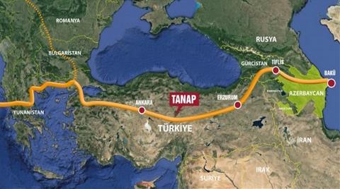Avrupa İmar ve Kalkınma Bankasının Gözü TANAP'ta