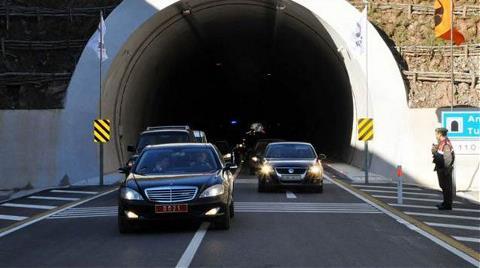 Amasra Tüneli'ne Açılış için Takılan Ekipmanlar Söküldü