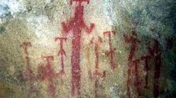 8 Bin Yıllık Mağara Resimlerine Spreyle Adlarını Yazdılar!