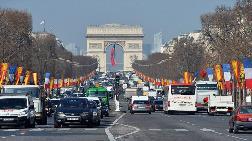 Paris'te Hava Kirliliğine Önlem