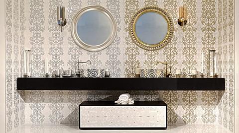 Yurtbay Seramik Aura Serisi ile Şık ve Işıltılı Banyolar