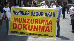 Munzur'a Yapılması Planlanan Baraj ve HES'ler Danıştay'a Takıldı