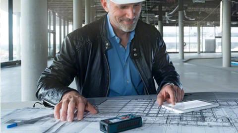 Bosch'dan Profesyoneller için GLM Floor Plan Uygulaması