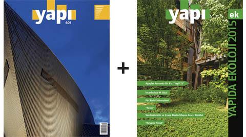 YAPI Dergisi Nisan Sayısıyla Özel Ekoloji Eki Veriyor