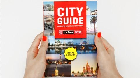 Akfen GYO'nun 2014 Faaliyet Raporu 'Şehir Rehberi'