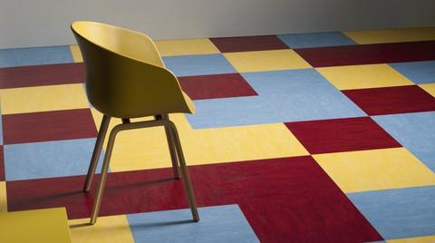 Forbo Marmoleum Modular ile Renk ve Motiflerle Oynayın