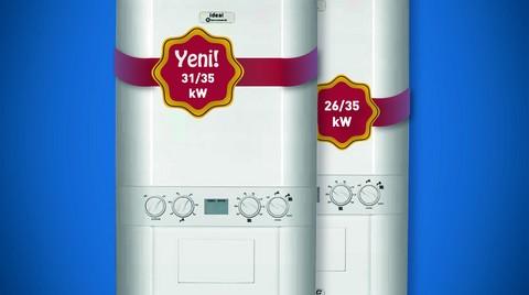 Kalabalık Aileler için LOGIC 31/35 kW