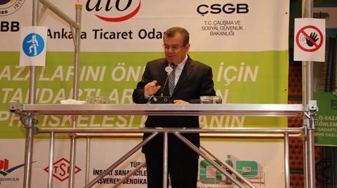 ATO Başkanı da Kazalarda Sorumluluğu İşçilere Yükledi