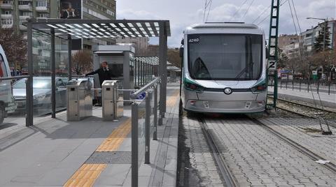 Konya'da Raylı Sistem Projelerine Bakanlık Desteği