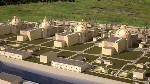 Akkuyu Nükleer Santrali için İlk Temel Atılıyor