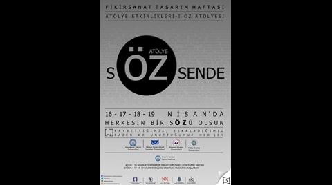 KTÜ Fikir Sanat Tasarım Haftası 2015 - Atölye 'Öz'