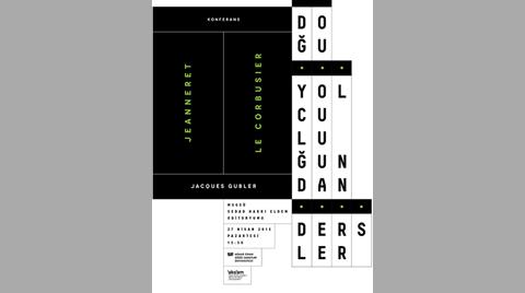 """""""Jeanneret / Le Corbusier: Doğu Yolculuğundan Dersler"""""""