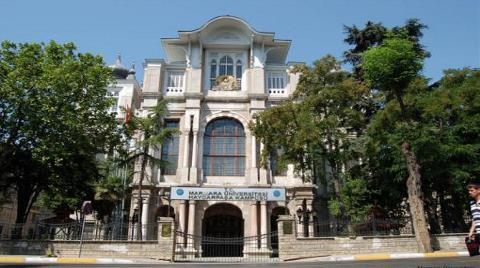 Tarihi Binayı Marmara Üniversitesi'nden Aldılar