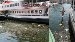 İzmir'de Çöpler Kıyıya Vurdu