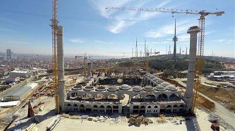 Çamlıca Camisi'nin Yüzde 75'i Tamamlandı