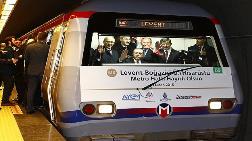 Levent-Hisarüstü Arası Metroyla 6 Dakikaya İndi