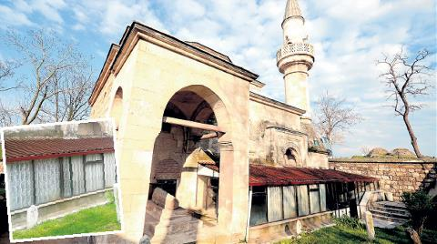 Tarihi Camiye PVC Sundurma