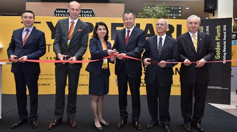 38. Yapı Fuarı - Turkeybuild İstanbul Başladı