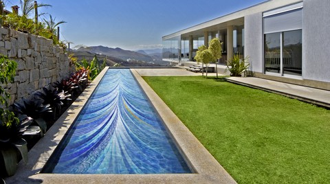 Craig Bragdy Design'den El Yapımı Sanatsal Havuz Tasarımları