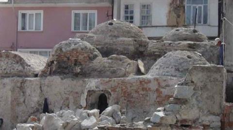 Tarihi Hamama 550 Bin Liralık Restorasyon