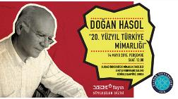 """Doğan Hasol'dan """"20. Yüzyıl Türkiye Mimarlığı"""""""